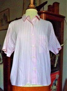 Chemise à Rayure Vintage80's
