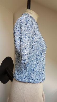 pull  été  bleu