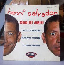 45 tours Henri Salvador (Zorro est arrivé !)