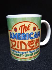 Lot de 2 mugs américan diner neufs