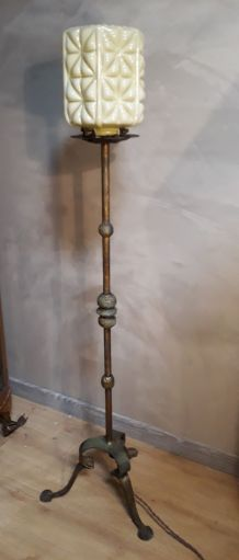 grande lampe lampadaire vintage fer for