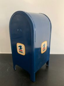 Tirelire originale Boite US Postal 1970 unique/collector