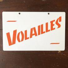 Ancienne pancarte