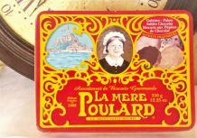 """Boîte à biscuit métal """"La mère Poulard"""""""