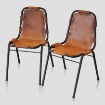 Chaises style Charlotte Perriand  « Les Arcs »