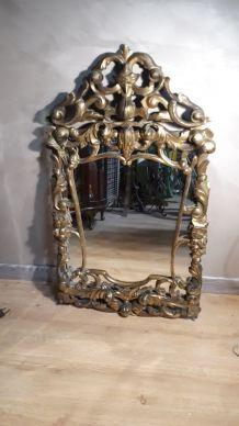miroir caractéristiques du style Rococo , 1900