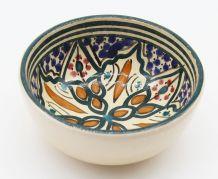 Bol en céramique marocain