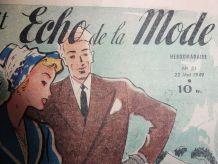 Journal Le Petit Echo de la Mode