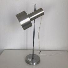 Lampe disderot acier design Alain Richard vintage 1960 44 cm