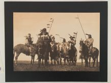 Photogravure de 1972 Edward S.Curtis