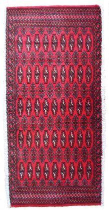 Tapis vintage Turkoman Tekke fait main, 1C207