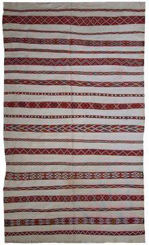 Tapis vintage Marocain kilim fait main, 1C214