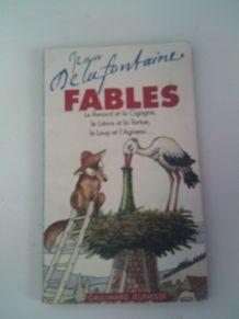 Livre de poche fables Jean de la Fontaine