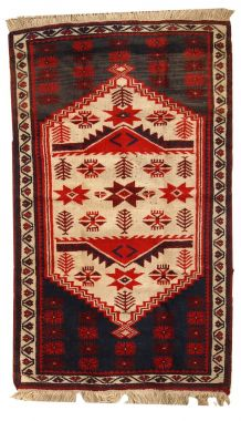 Tapis vintage Turc Anatolian fait main, 1C325