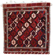 Tapis vintage Oriental fait main, 1C336