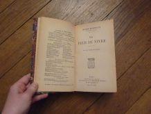 La Peur De Vivre- Henry Bordeaux- Librairie Plon- 1921