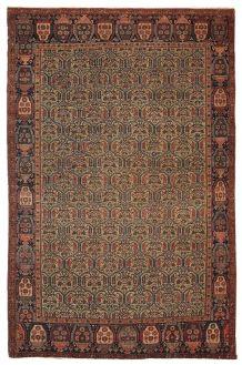 Tapis ancien Oriental fait main, 1B106