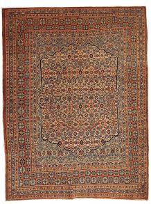 Tapis ancien Oriental fait main, 1B109