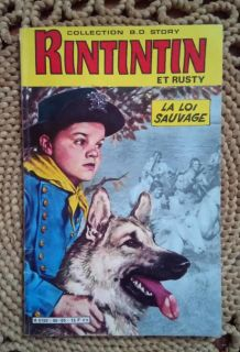 BD story - Rintintin et Rusty - 1986