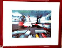 Lithographie Alain Prost
