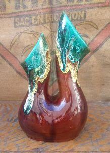 Joli vase en céramique style Vallauris