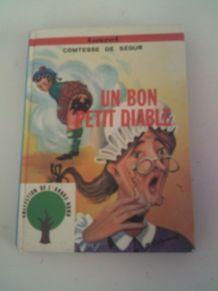 Livre comtesse de ségur Un Bon Petit Diable