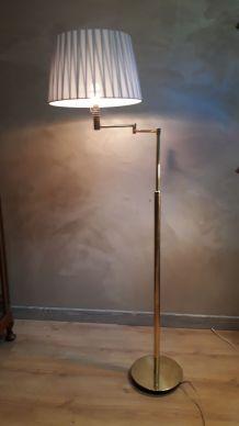 lampadaire ,liseuses articulées télescopiques en laiton 196