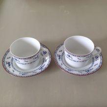 Duo de tasses à thé