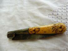Vendetta 59 Sauvagnat Couteau Corse ancien
