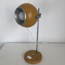 Lampe eyeball Moutarde monteuse Disderot vintage 1960 - 35 c