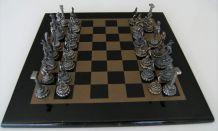 Jeux d'échec mythologie grecque étain plomb Grèce Forma