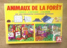 """Timbres à imprimer """"Animaux de la forêt"""" Fernand Nathan"""