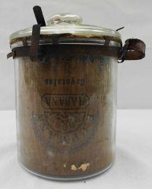 Grand pot à tabac ancien