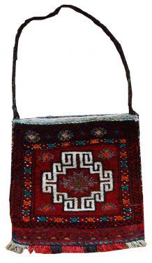 Tapis sac vintage Turc Anatolian fait main, 1C365