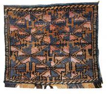 Sacoche ancien à collectionner Ouzbek fait main, 1C369