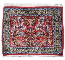 Tapis vintage Oriental fait main, 1C383