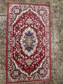 tapis laine  ancien