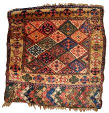 Tapis ancien Oriental fait main, 1B359