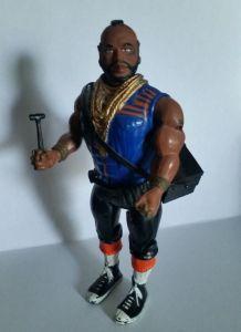 Figurine Mister T BARRACUDA Agences Tous Risques Vintage