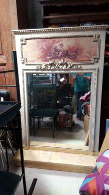 Trumeaux miroir plus peinture