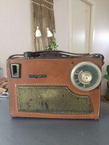 Radio Vintage portable Miami Pizons Bros 1956