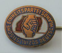 Broche épingle parti socialiste uni Allemagne Deutschland