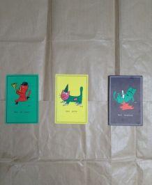 Cartes postales de Siné