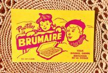 Ancien buvard publicitaire pour les Pastilles Brumaire
