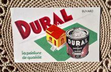 Ancien buvard publicitaire pour la peinture Dural