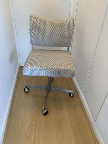 Chaise vintage bureau