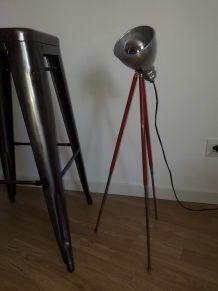 lampe vintage création unique