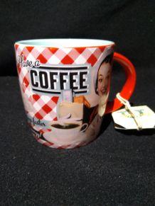 Mug vintage café