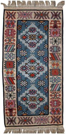 Tapis vintage Turc Kayseri kilim fait main, 1C468