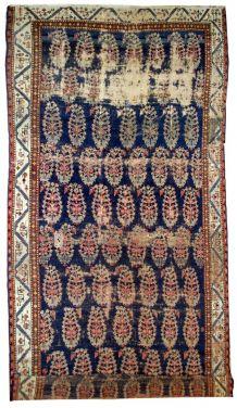 Tapis ancien Oriental fait main, 1B549
